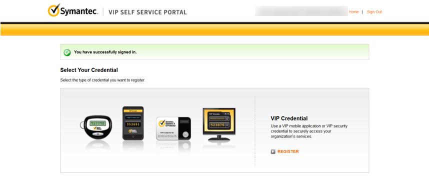Adopting two factor authentication for SAS portal