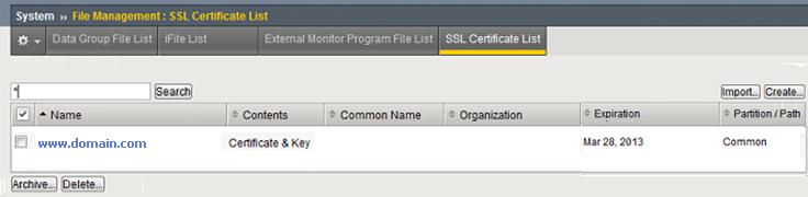 Installation Instructions for F5 BIG-IP version 11 x