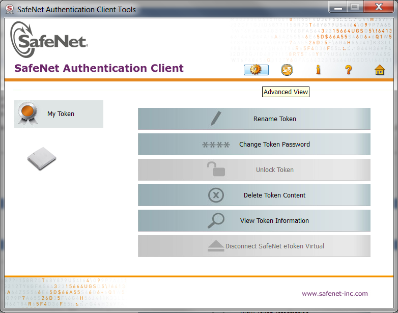 How to initialize or reset a SafeNet USB Token Device password